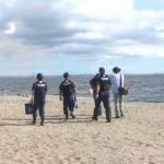 20200830幕張の浜で水難事故防止訴え (1)