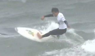 20201103サーフィン ジャパンオープン 一宮町で開催 地元出身の大原選手が優勝 (9)