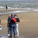20210716水難死亡事故の堤防 中高生対象に合同パトロール (2)sa